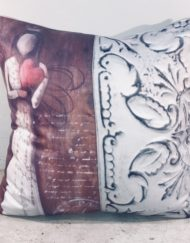 Cushion with prints